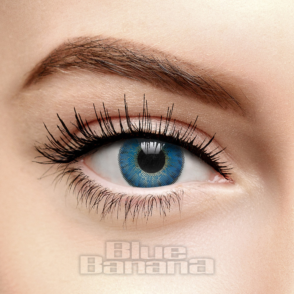 Freshlook Colorblends 30 Day Coloured Contact Lenses (Brilliant Blue)