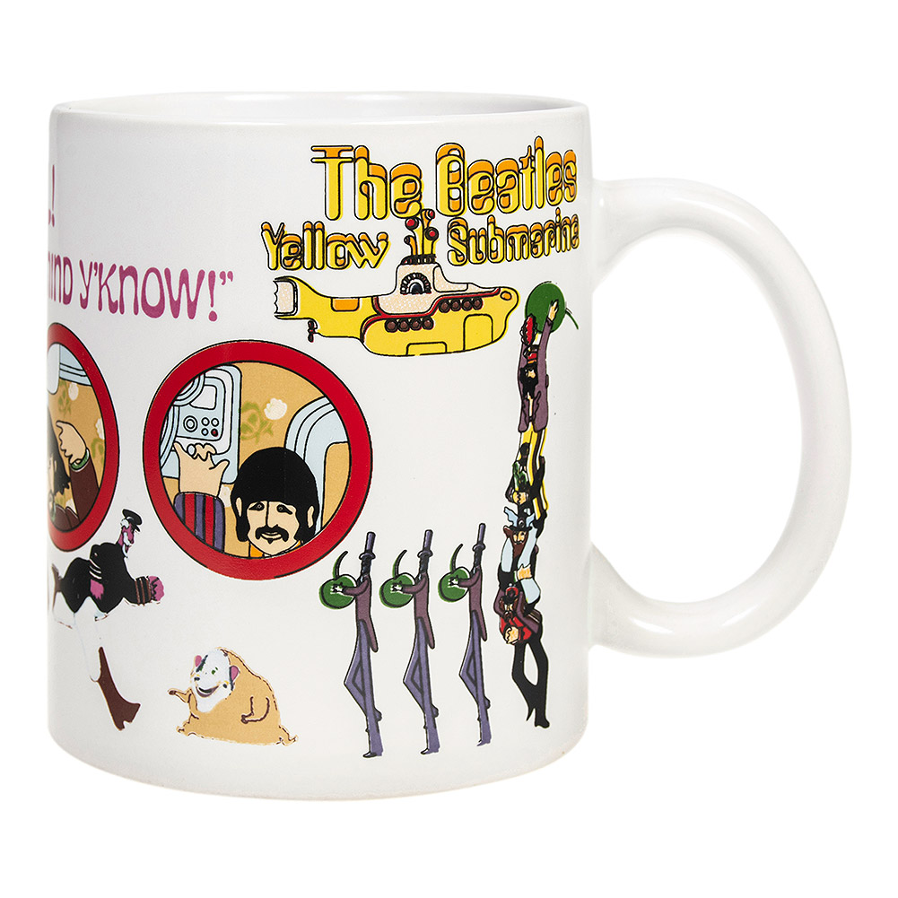 Official The Beatles Yellow Submarine Mug (Multicoloured)