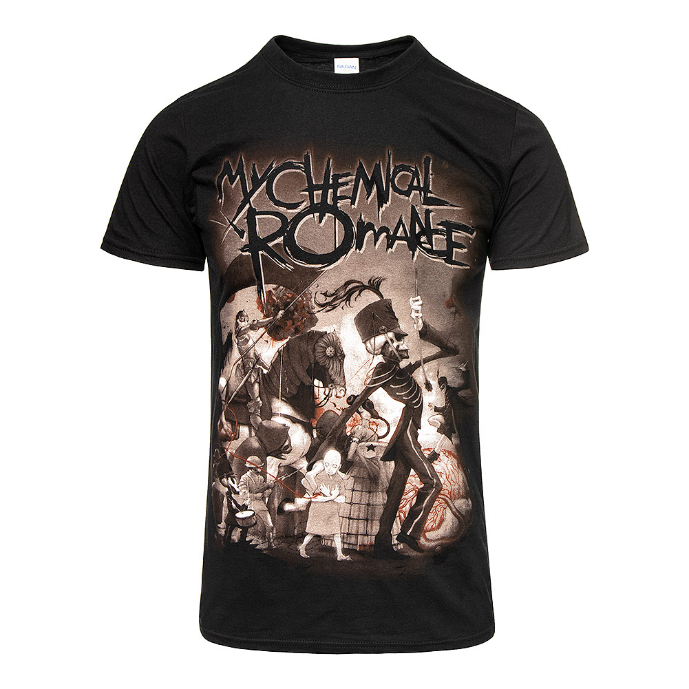 Official My Chemical Romance On Parade T Shirt (Black)