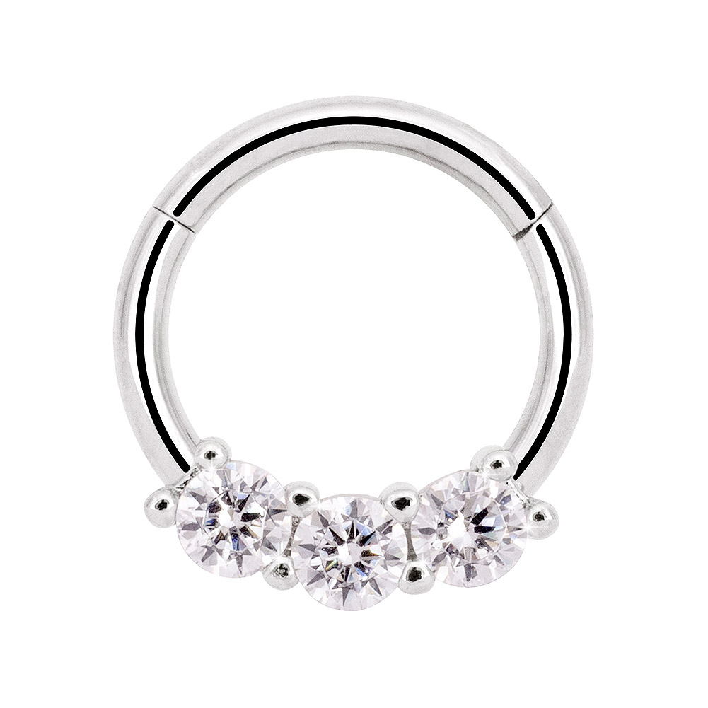 Surgical Steel Septum Ring Body Piercing Jewellery Seemless