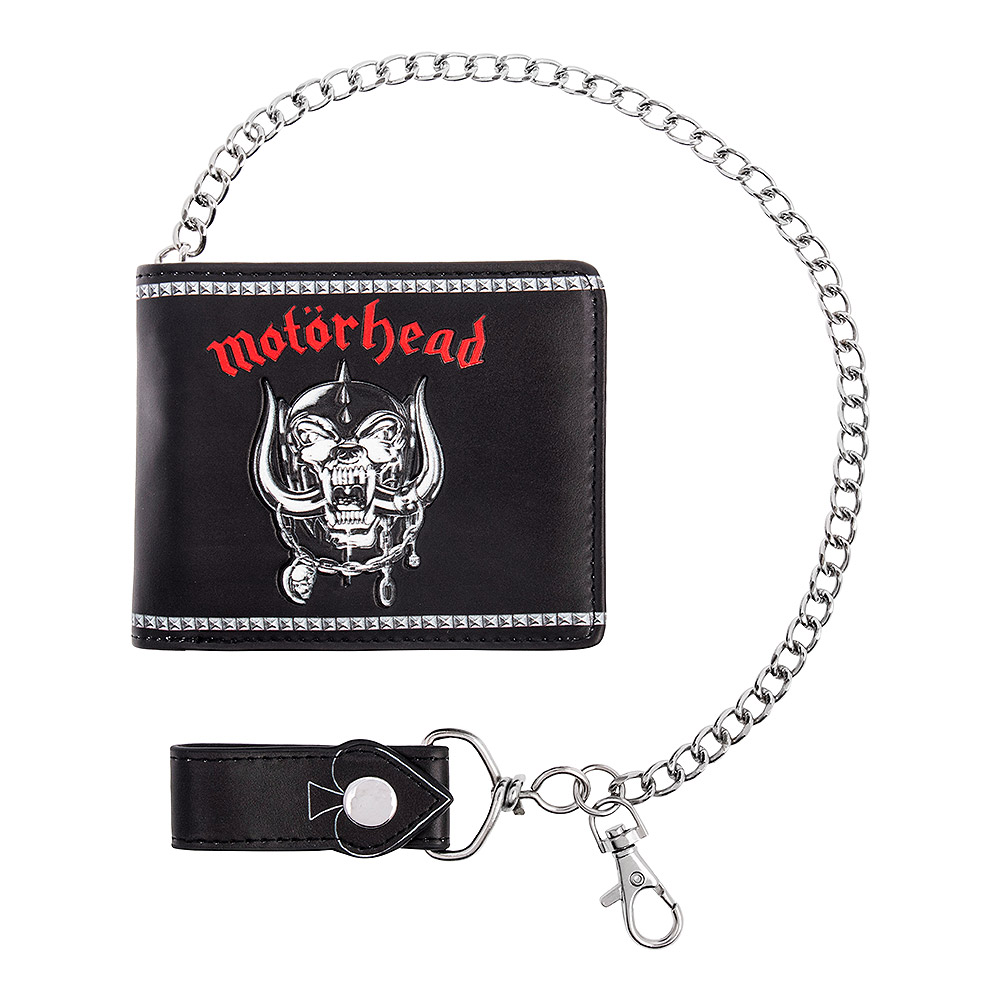 Nemesis Now Motorhead Wallet With Chain