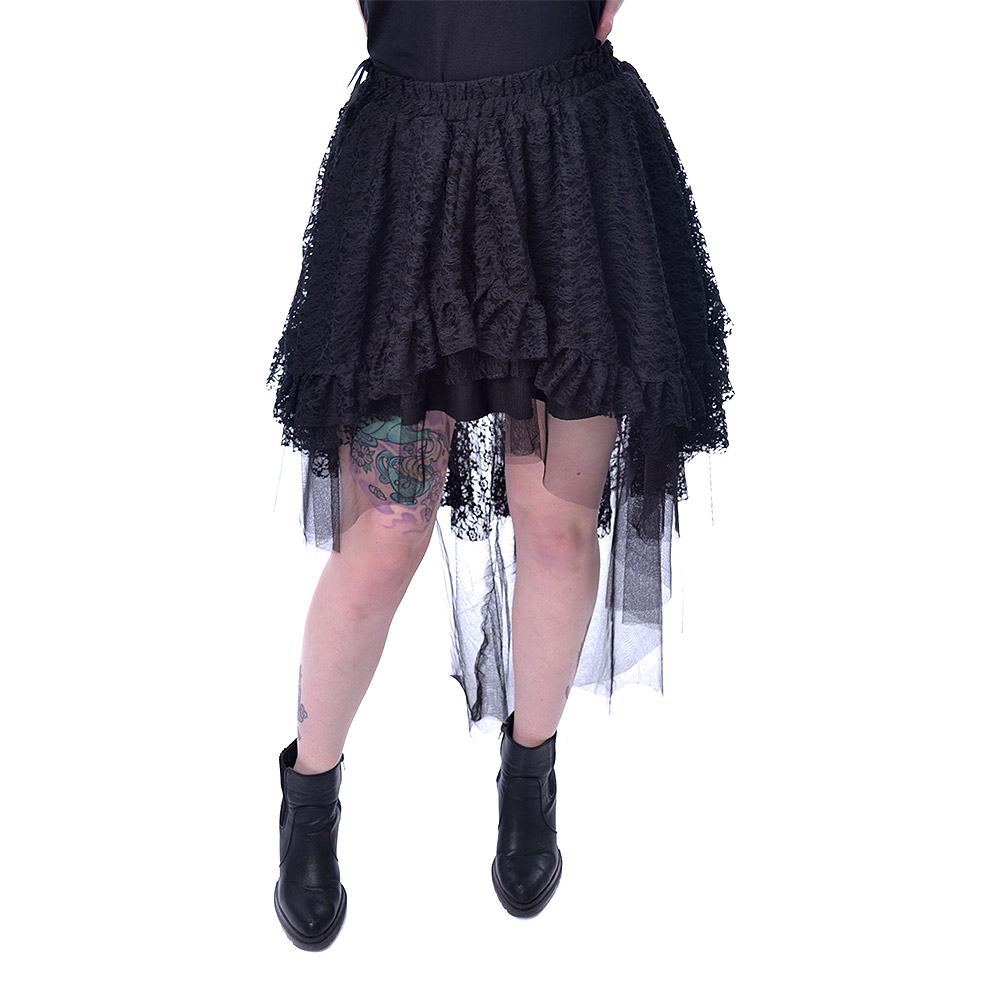 Poizen Industries Lavinia Skirt (Black)