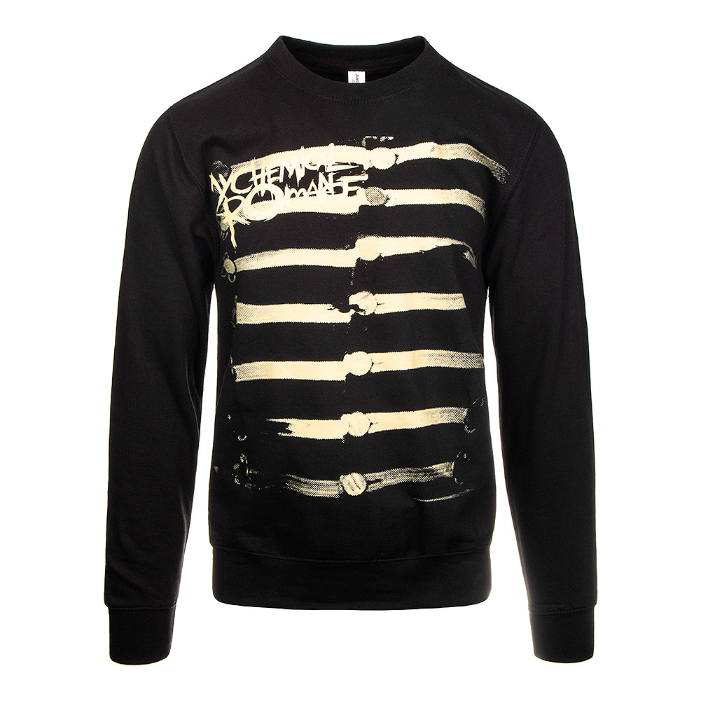 Official My Chemical Romance Together We March Jumper (Black)