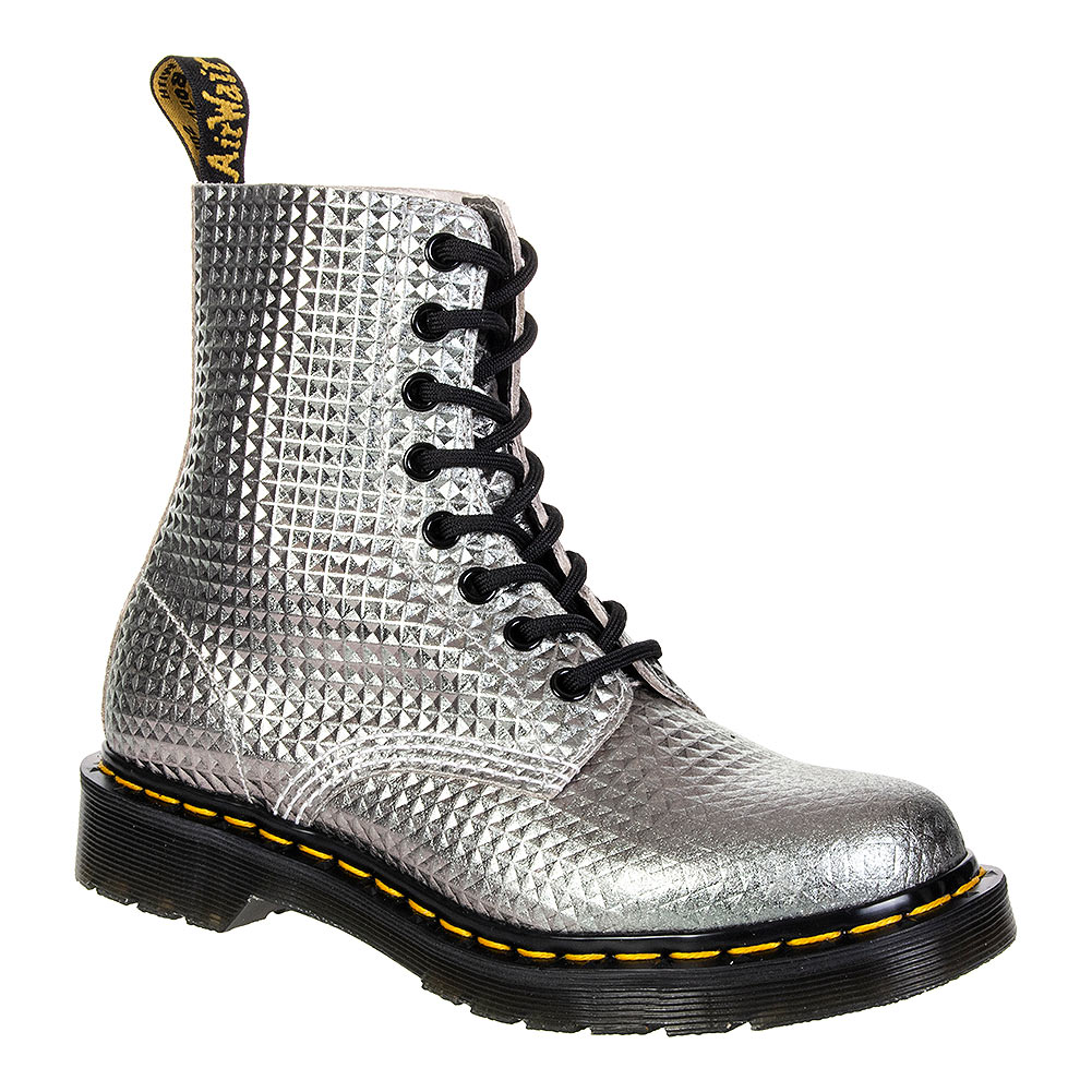Dr Martens 1460 Pascal Boots (Silver Stud)