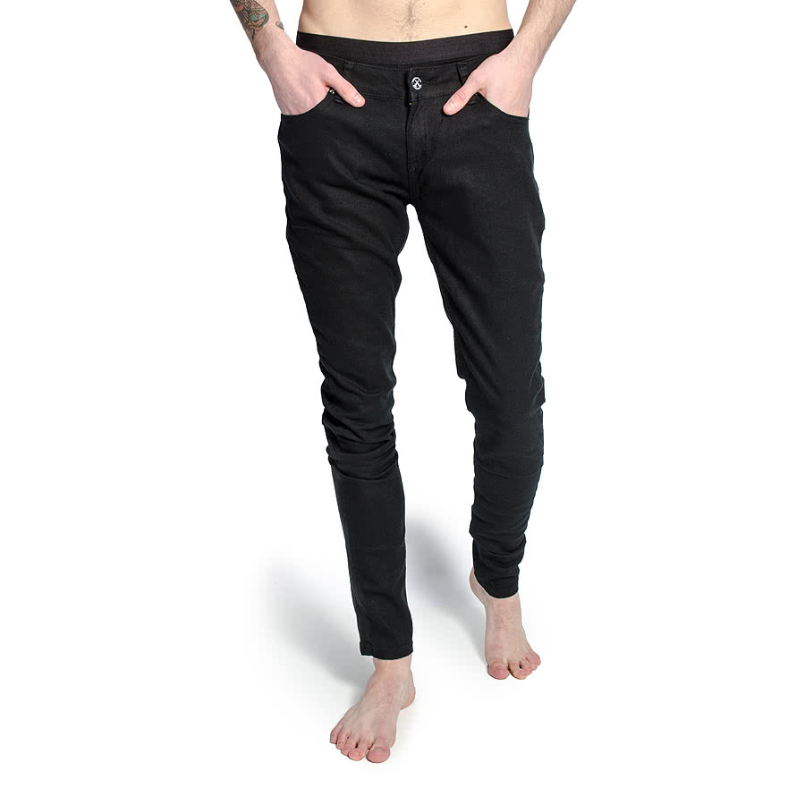 11477f8c8b Details about Criminal Damage Mens Black Skinny Fit Jeans - Mens Slim Fit  Stretch Jeans