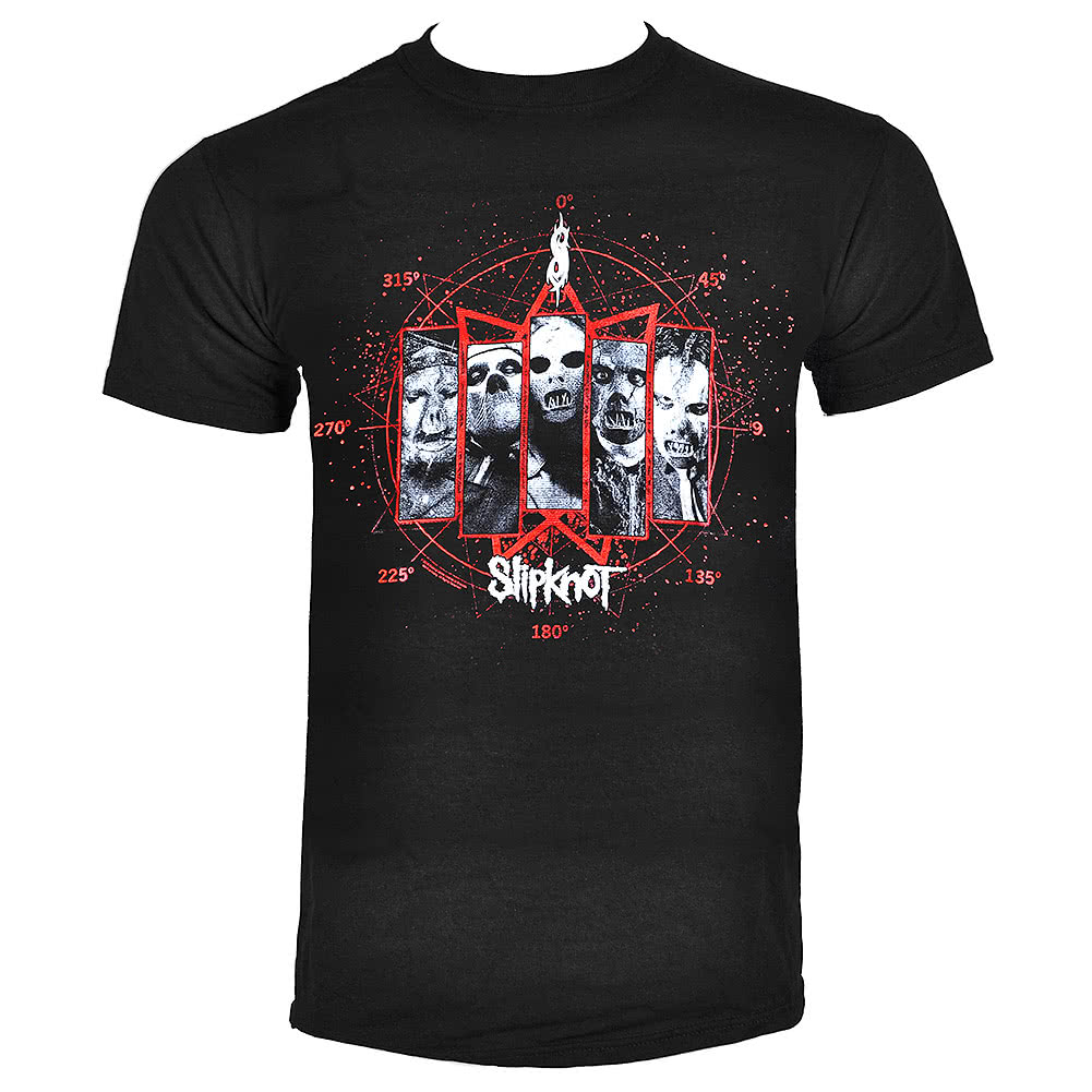 Official Slipknot Paul Gray T Shirt (Black)