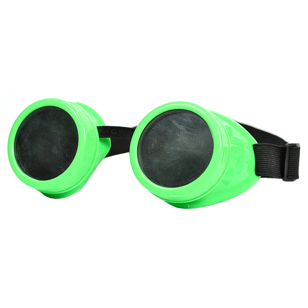 Steampunk Style Goggles (Green)