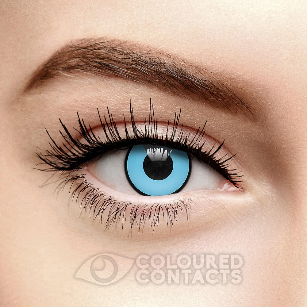 Manson 90 Day Coloured Contact Lenses (Blue)