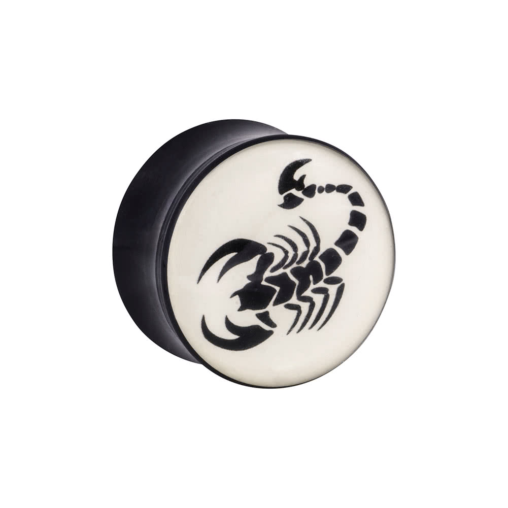 Ikon Scorpion Plug (Black/White)