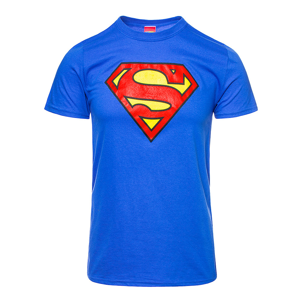 Camiseta DC Comics Superman Emblem (Azul)