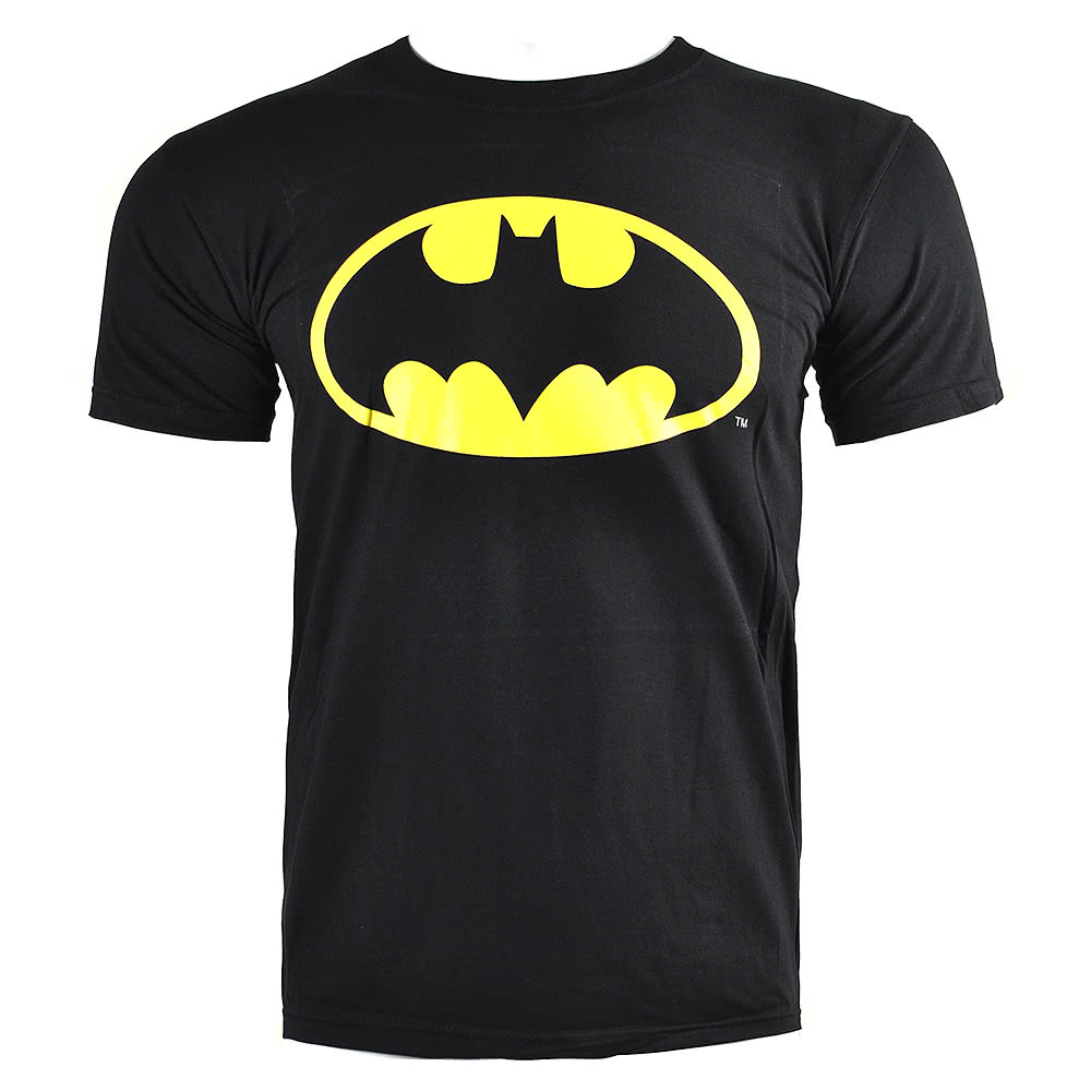 DC Comics Batman Shield T Shirt (Black)
