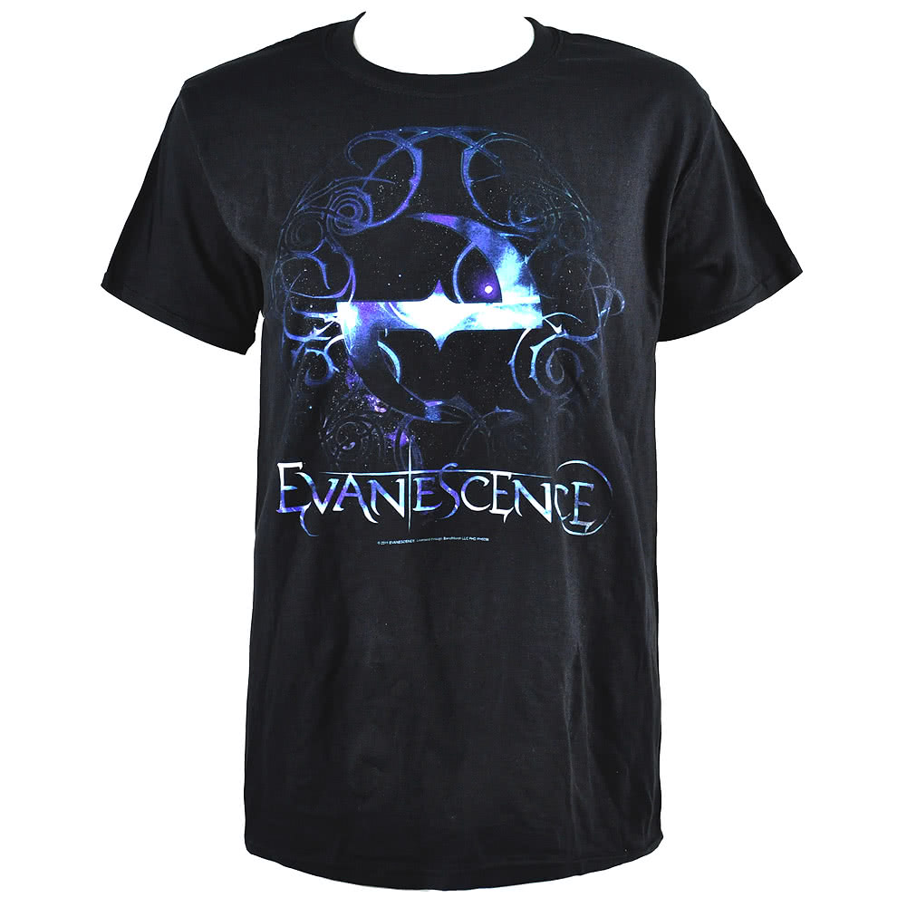 Official Evanescence Forever T Shirt (Black)