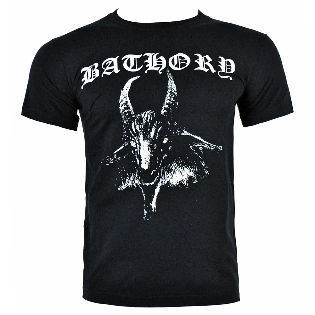 Official Bathory Goat T Shirt (Black)