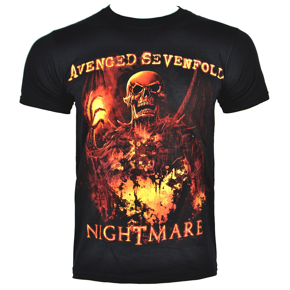 Official Avenged Sevenfold Inner Rage T Shirt (Black)