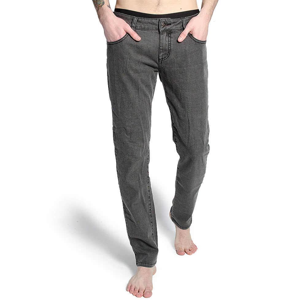 Bleeding Heart Skinny Fit Jeans (Snow Grey)