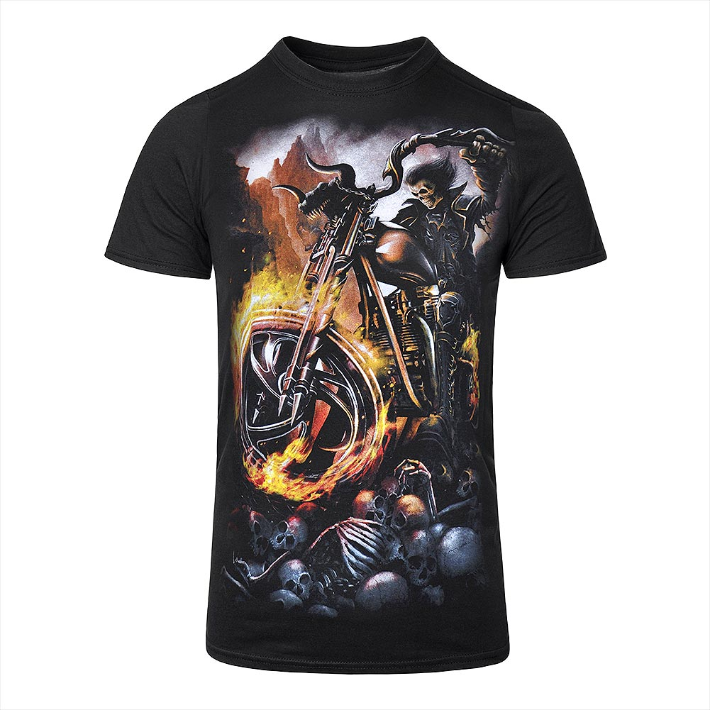 Spiral Direct Wheels Of Fire T Shirt (Noir)