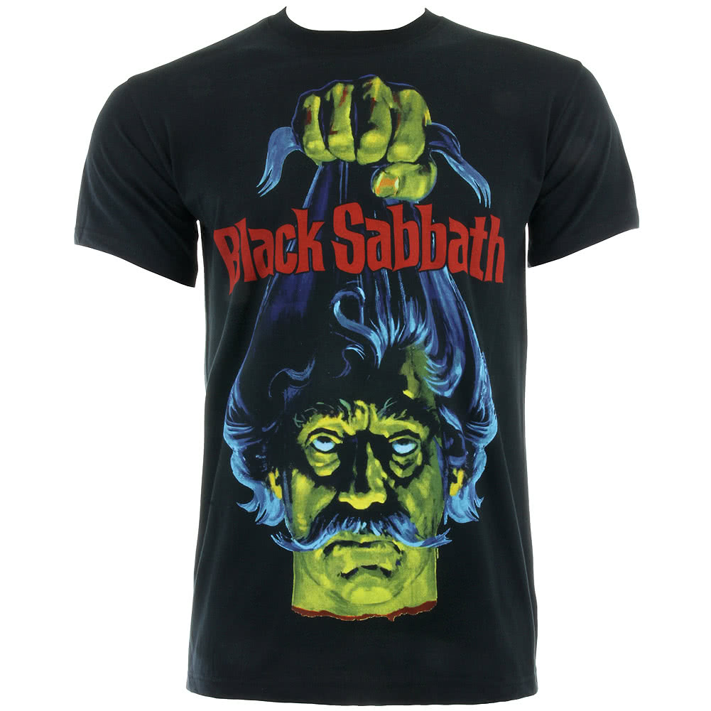 Black sabbath t shirt avengers - Black Sabbath Head T Shirt Schwarz