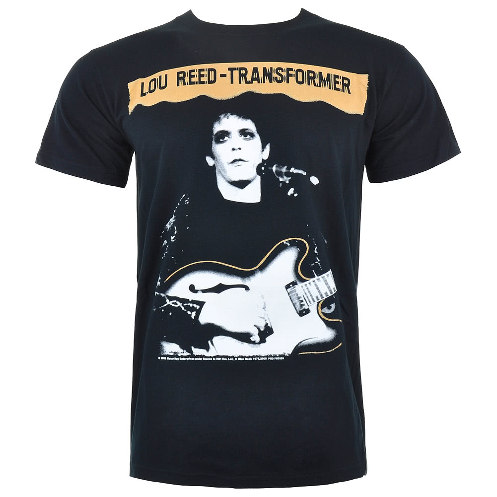 Official Lou Reed Transformer T Shirt (Black)