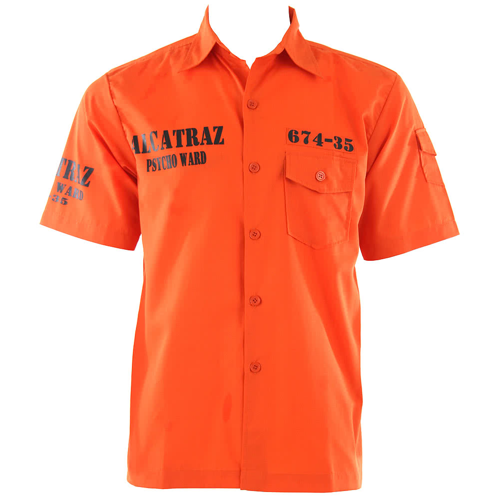 Jawbreaker Alcatraz Shirt (Orange)