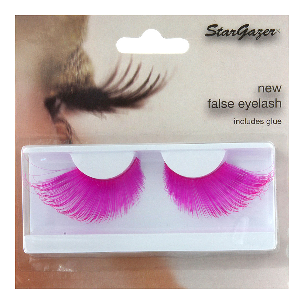 Stargazer Neon False Eyelashes (Pink)