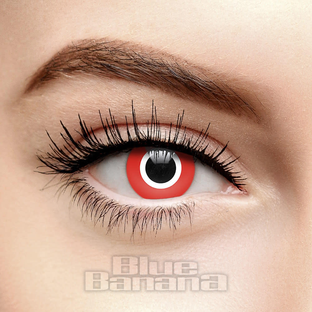 Lentilles De Contact 1 Jour Assassin (Rouge)