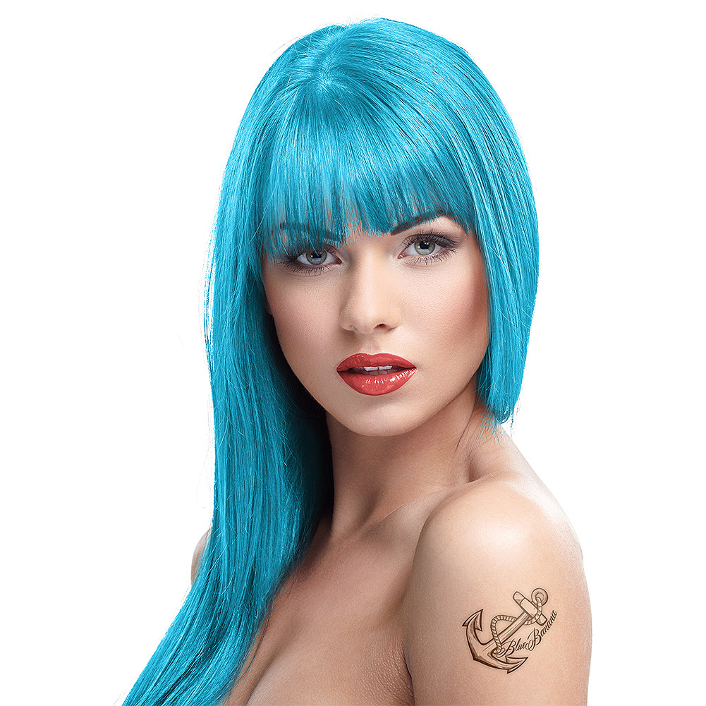 Temporary Blue Hair Color Colors Idea In 2017