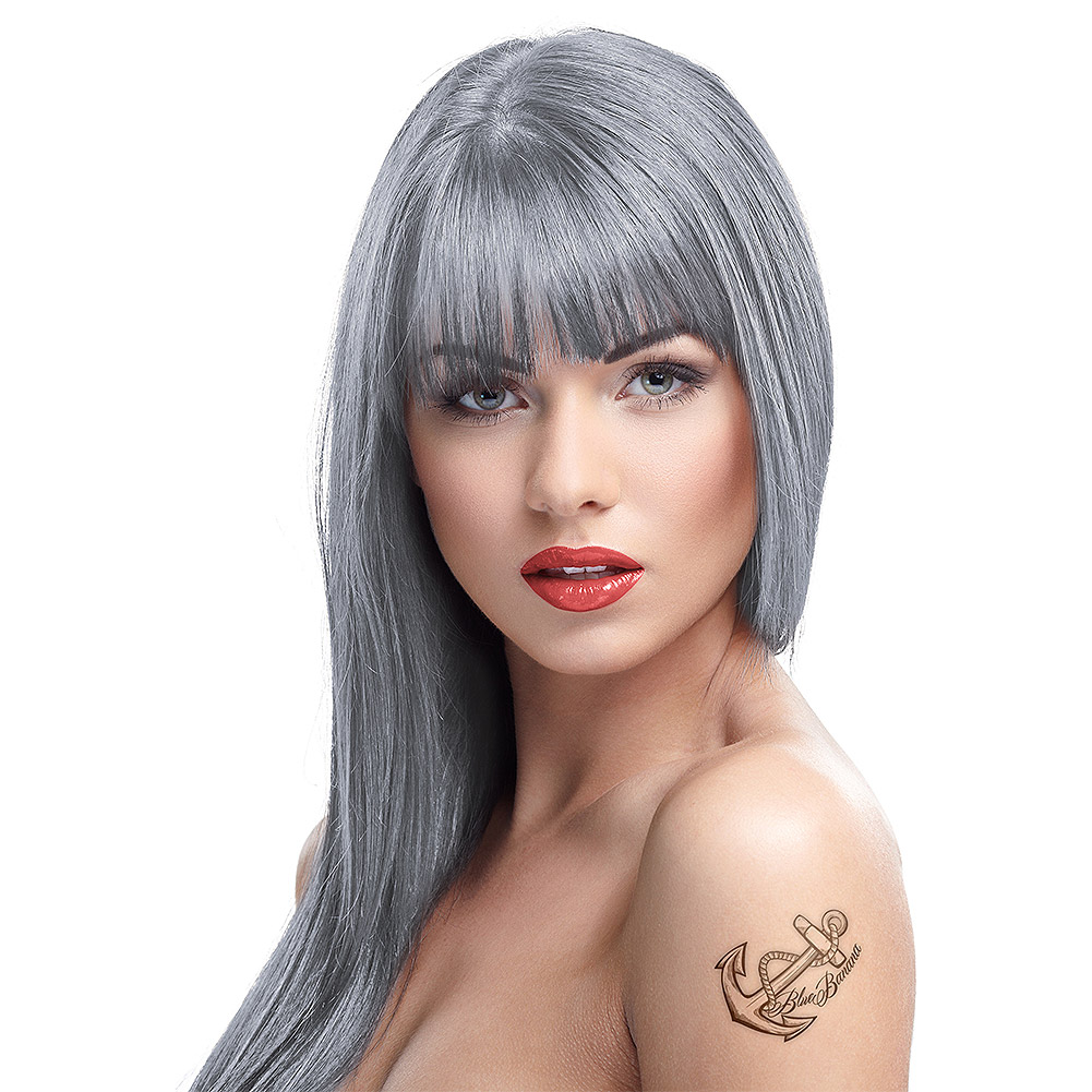 Crazy Color Semi Permanent Silver Hair Dye 100ml Hair Dye Uk