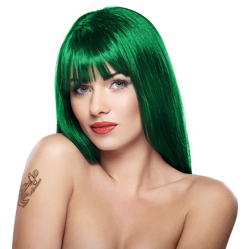 Colorante Per Capelli Semi-Permanente Fosforescente Uv 70ml Stargazer (African Green - Verde)