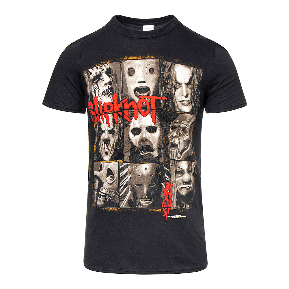 Slipknot Mezzotint Decay T Shirt (Nero)