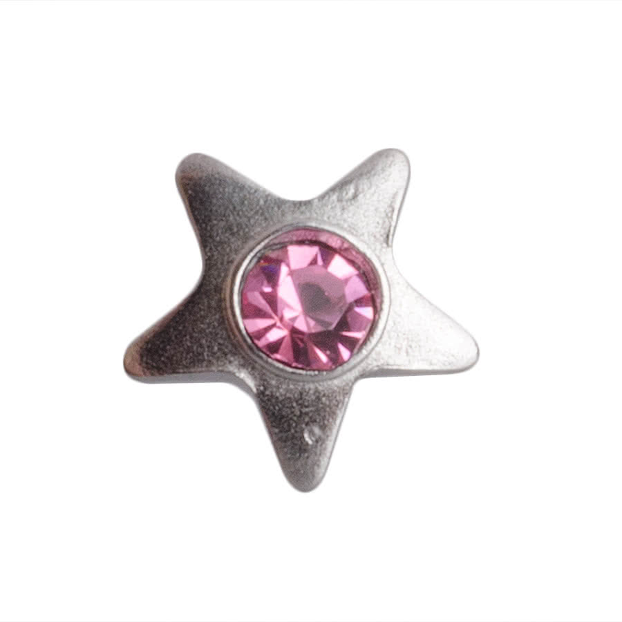 Piercing Dermal Top Star 3mm Blue Banana Body Piercing (Rosa)