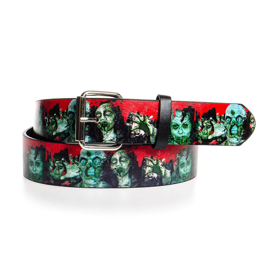 Blue Banana Zombie Printed Belt (Multi-Coloured)