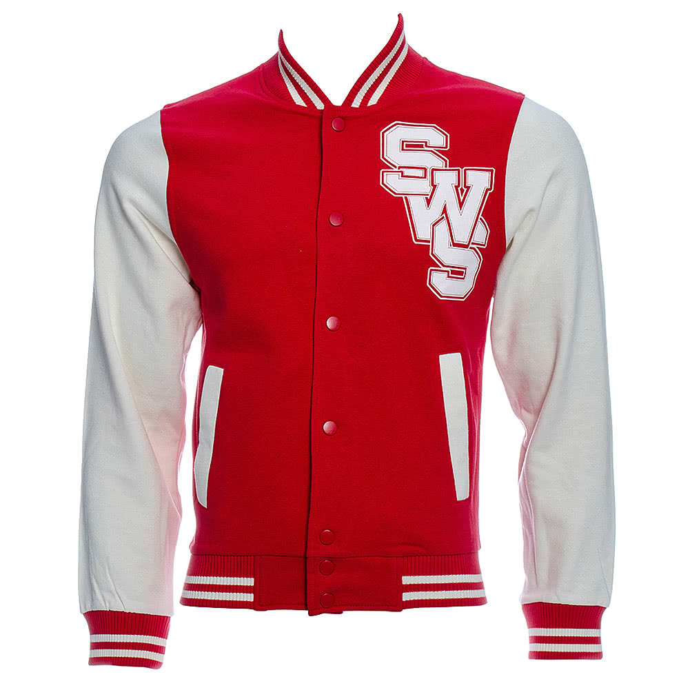 Official Sleeping With Sirens Varsity Jacket (Red)