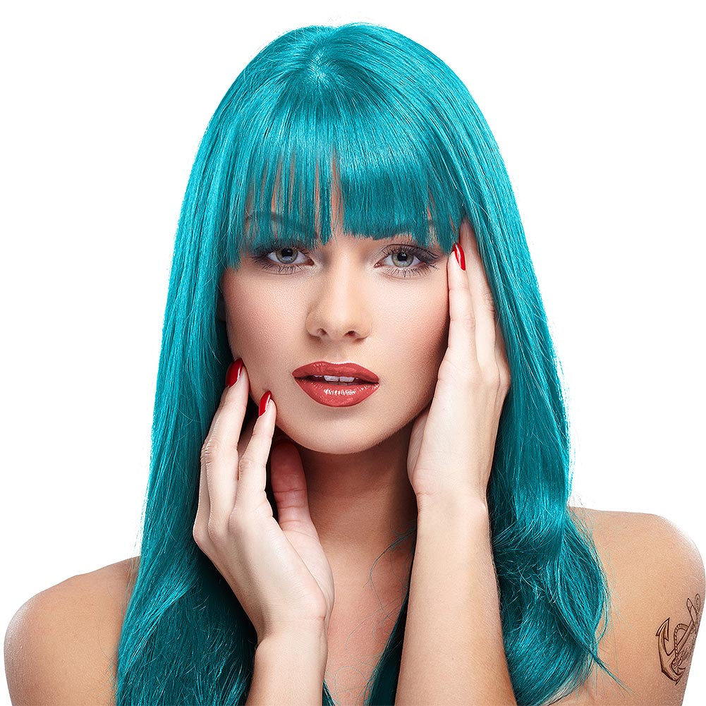 Manic Panic High Voltage Classic Cream Formula Colour Hair Dye 118ml (Atomic Turquoise)
