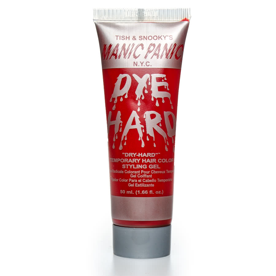 Manic Panic Dye Hard Temporary Hair Colour Styling Gels 50ml (Vampire Red)
