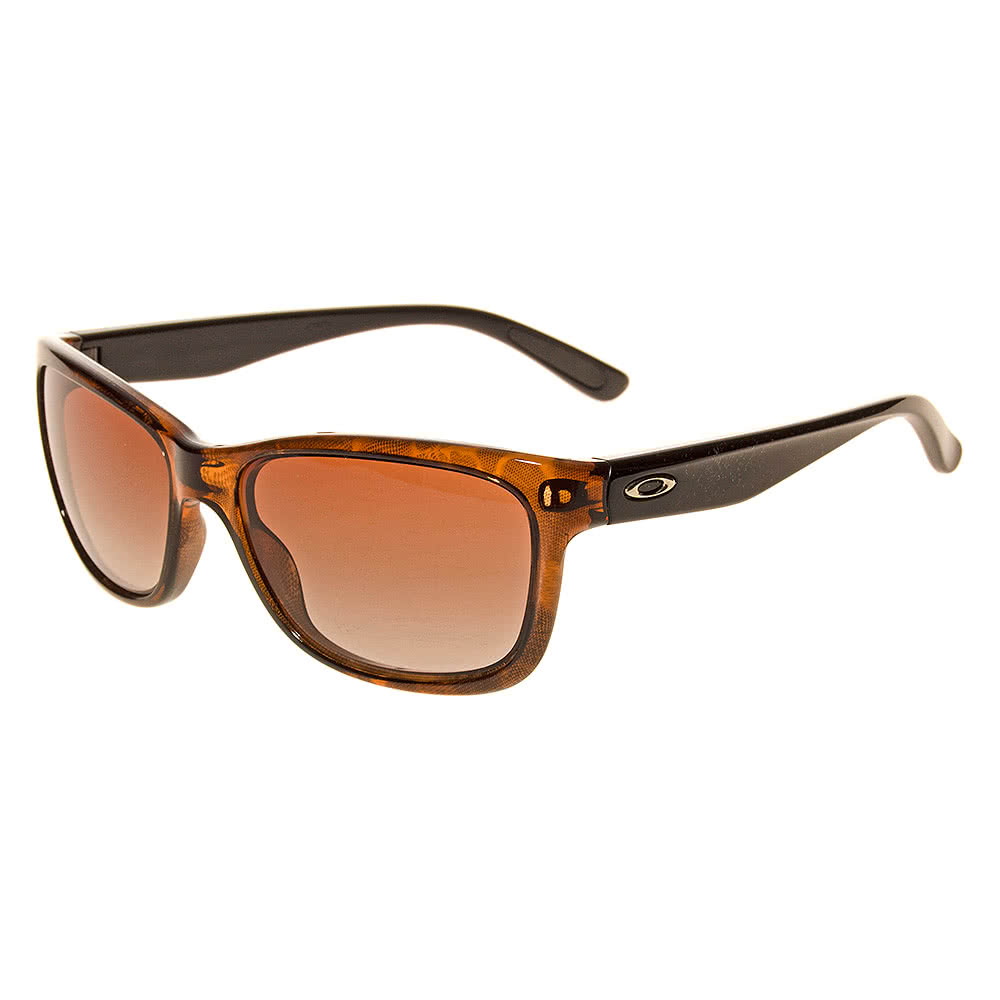 Oakley Forehand Sunglasses (Tortoise/Black/Dark Brown Gradient)