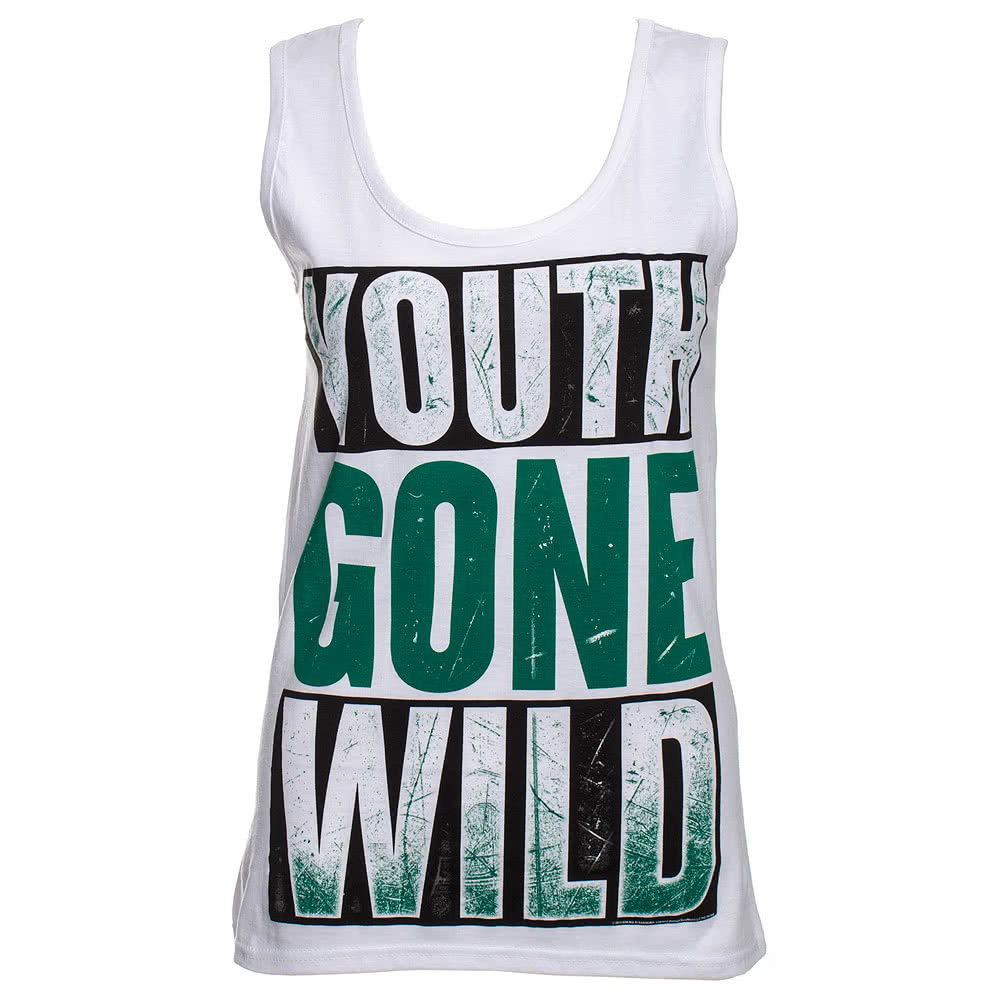 Official Asking Alexandria Youth Gone Wild Vest (White)