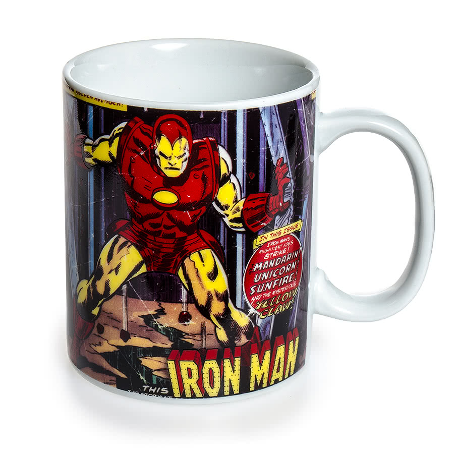 Marvel Comics Mug (Iron Man)