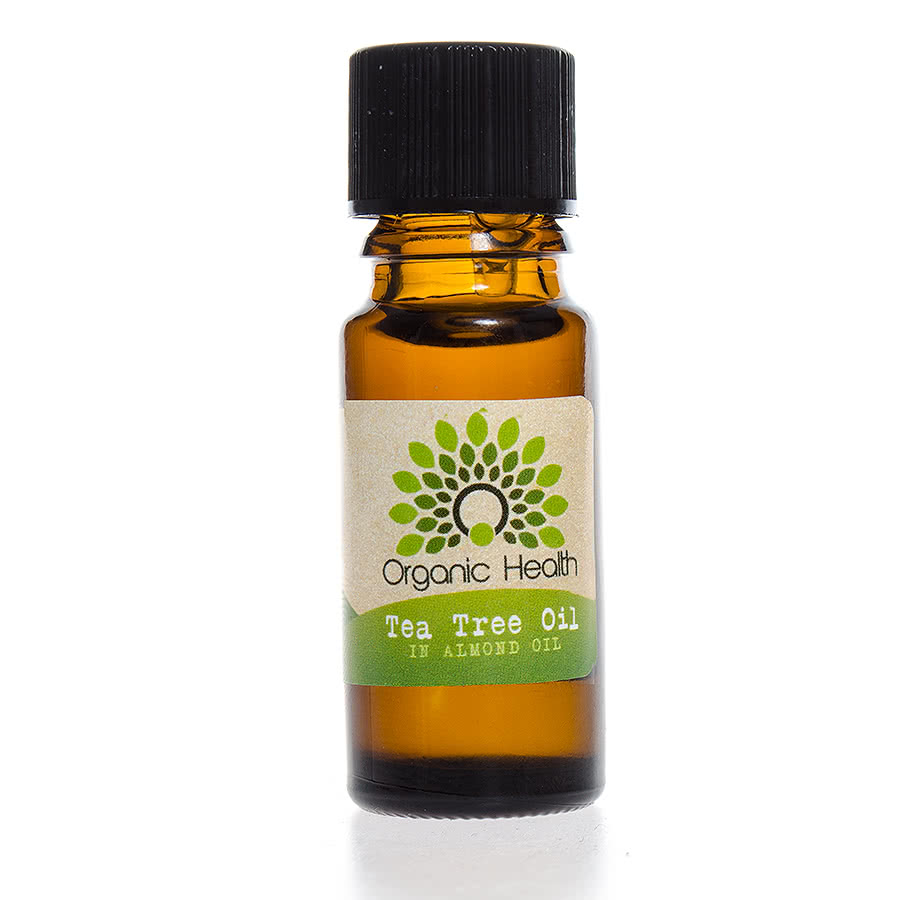 Organic Health Tea Tree & Almond Oil (10ml)