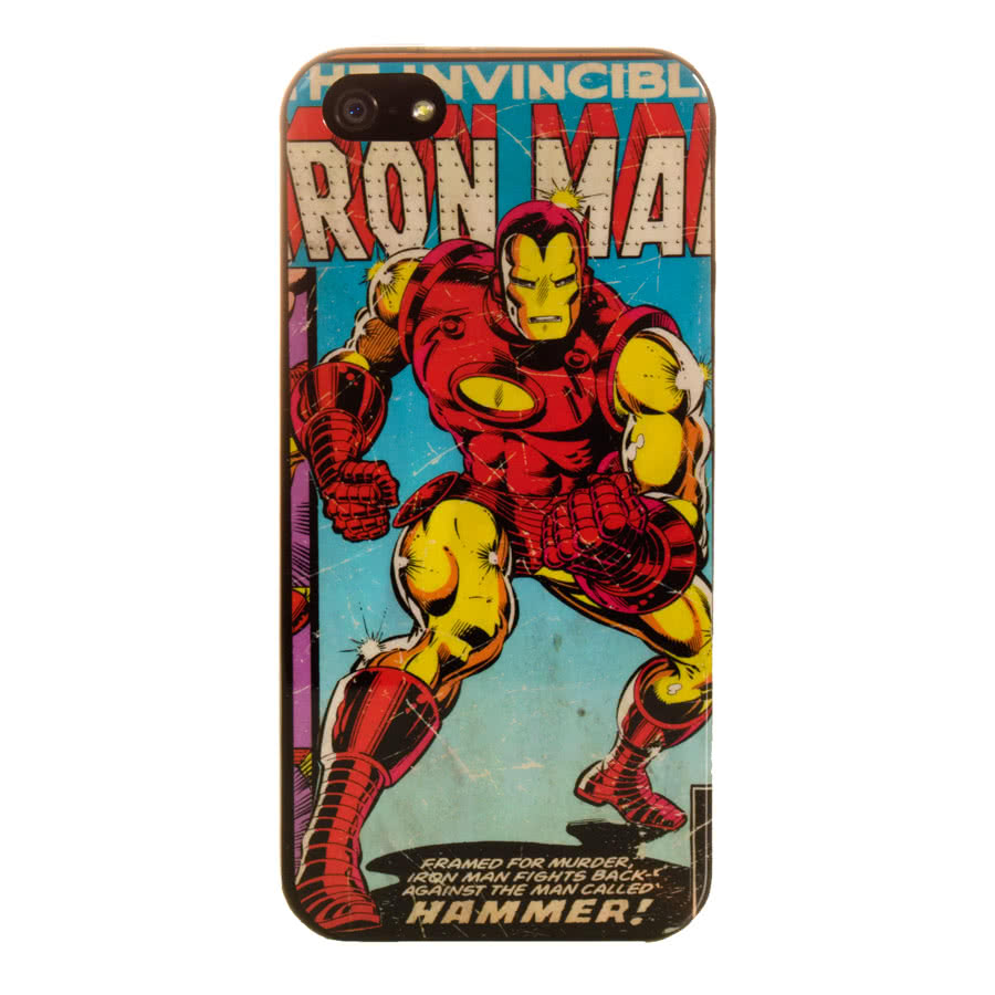 Marvel Comics iPhone 5 Phone Case (Iron Man)
