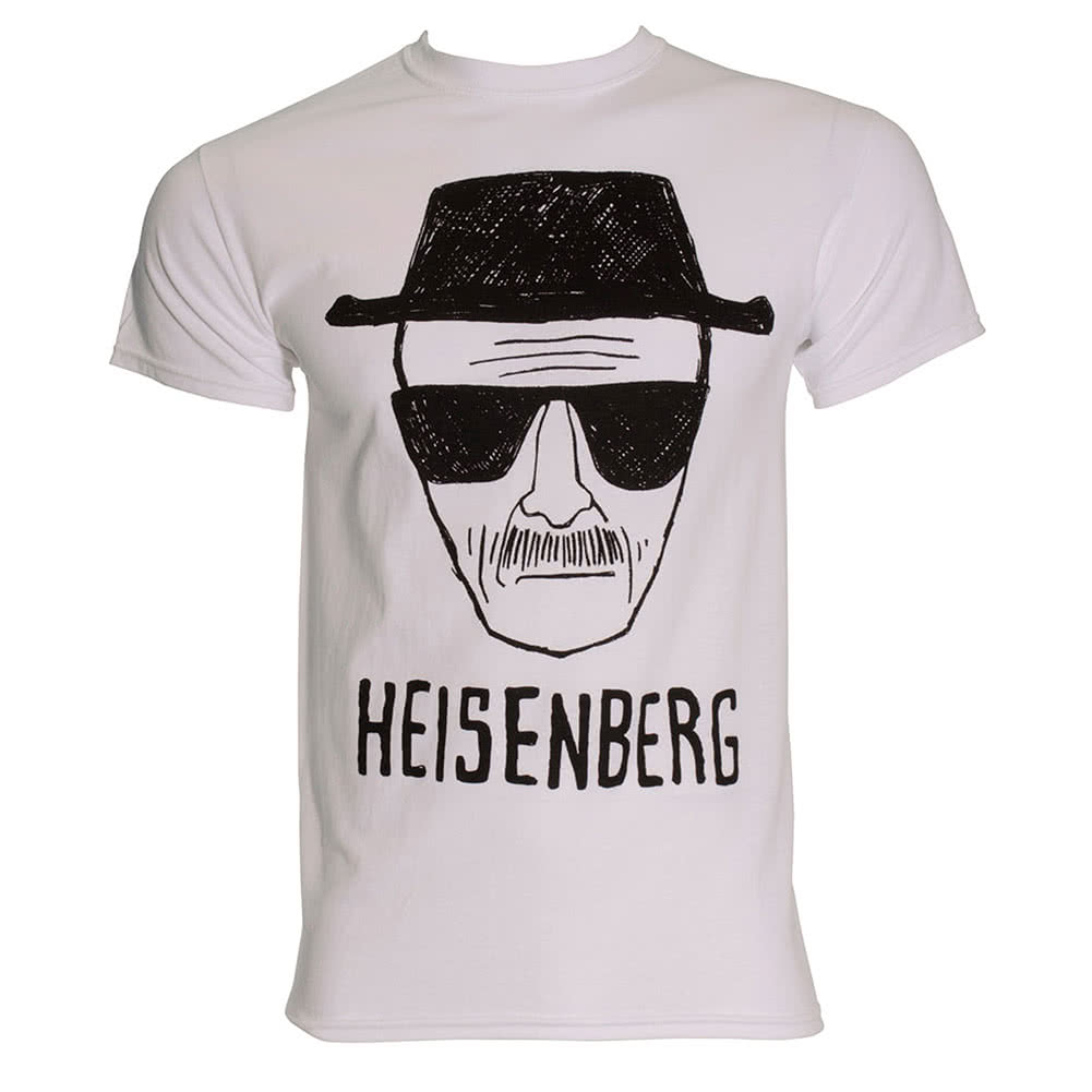 Breaking Bad Heisenberg Sketch T Shirt (White)