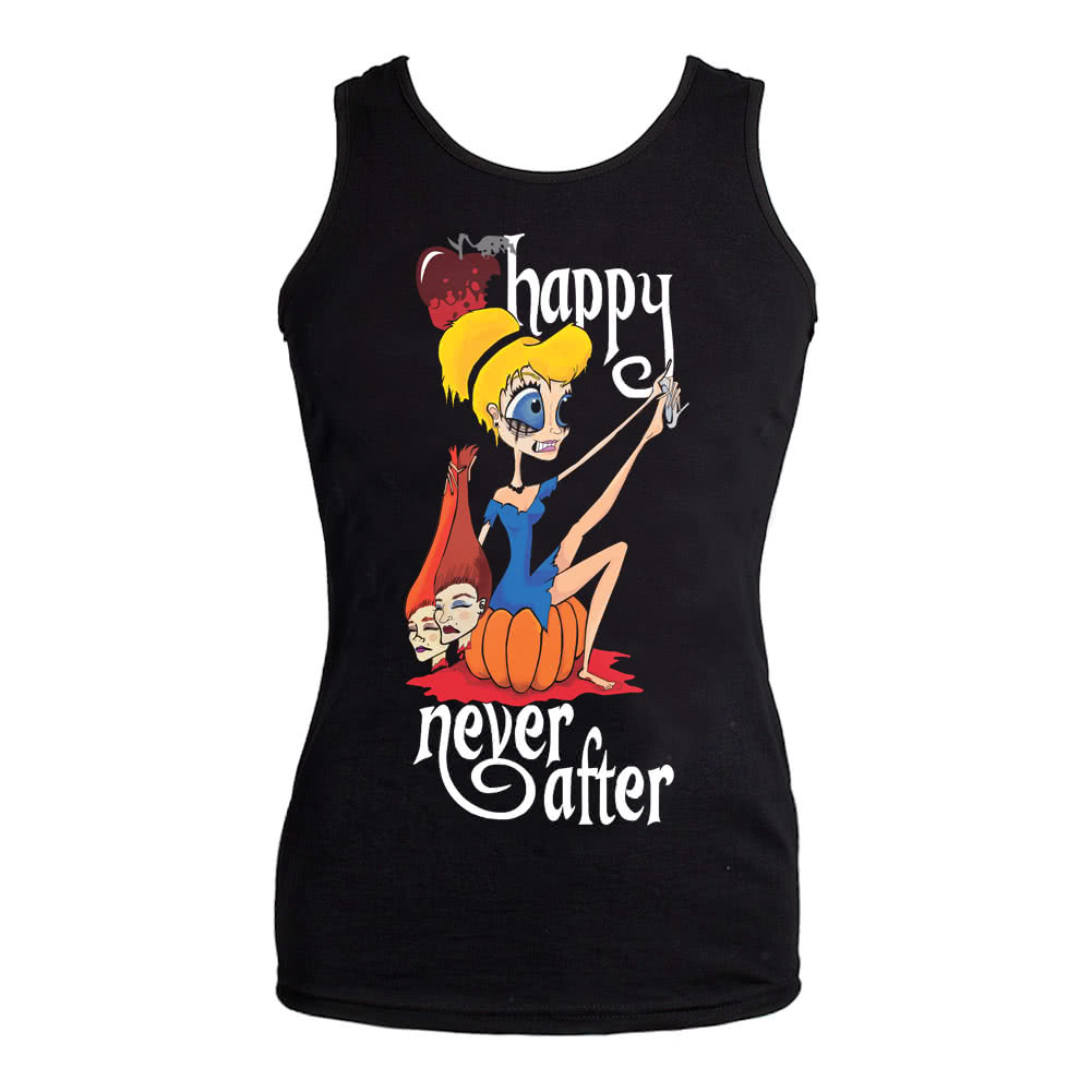 Happy Never After Sinders Vest Top (Black)