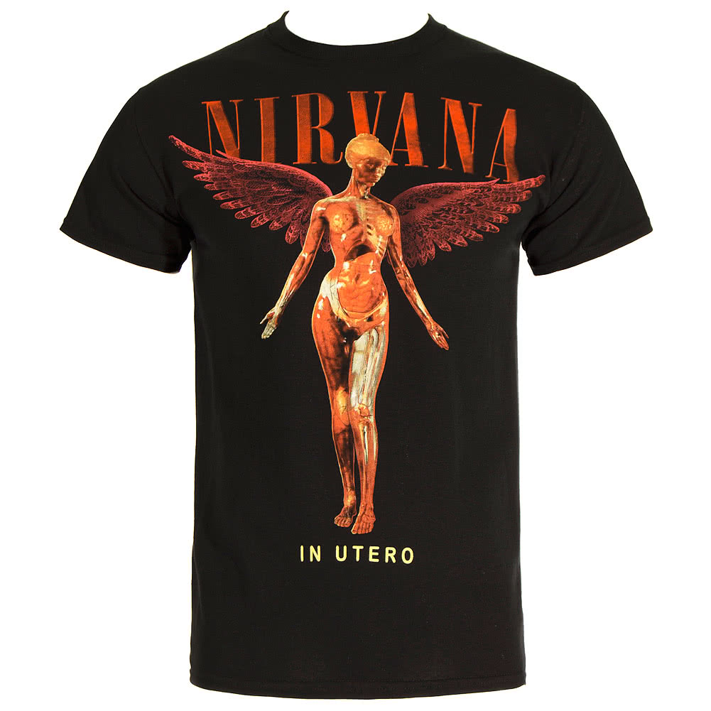 Official Nirvana In Utero T Shirt (Black)