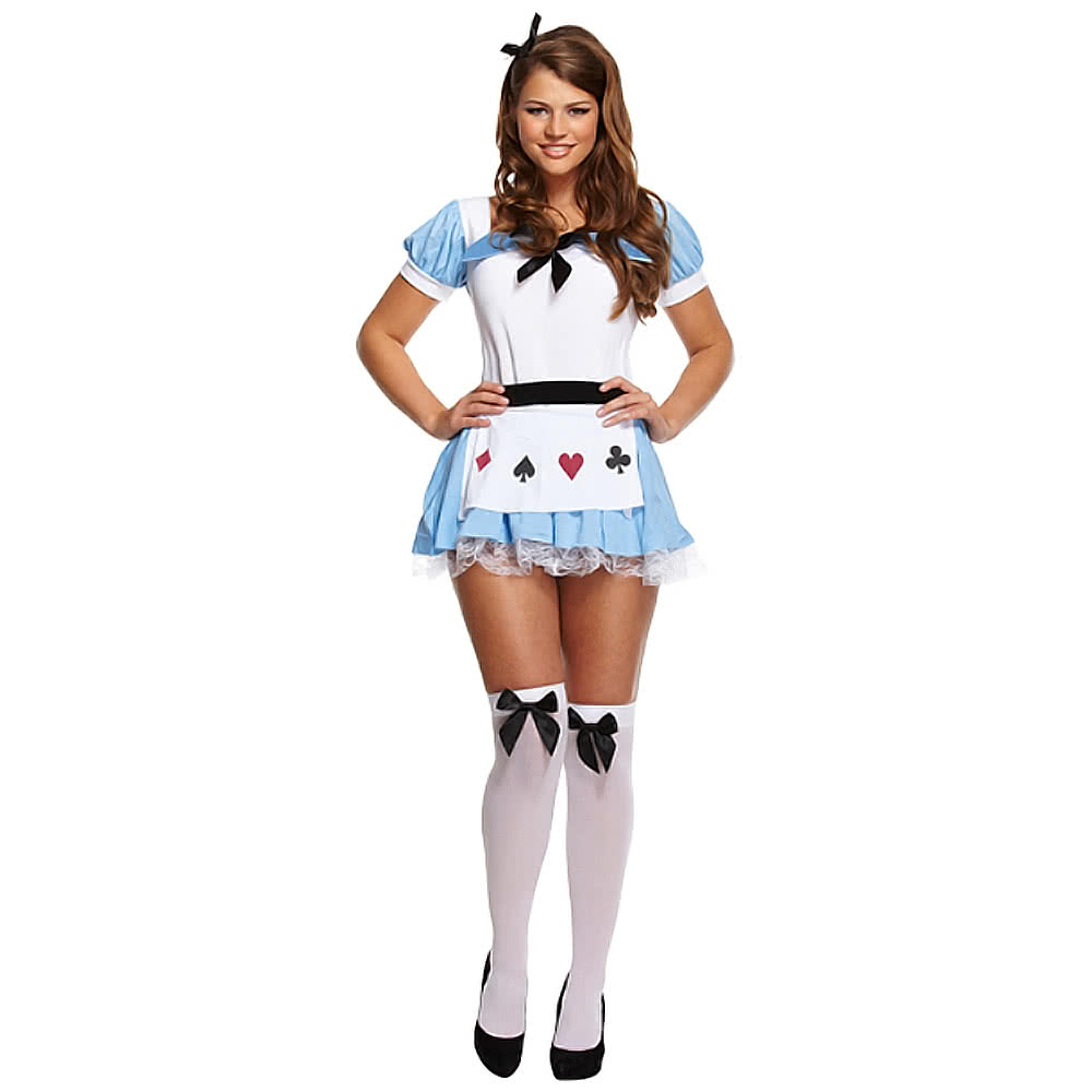 Blue Banana Alice Fancy Dress Costume (Blue/White)