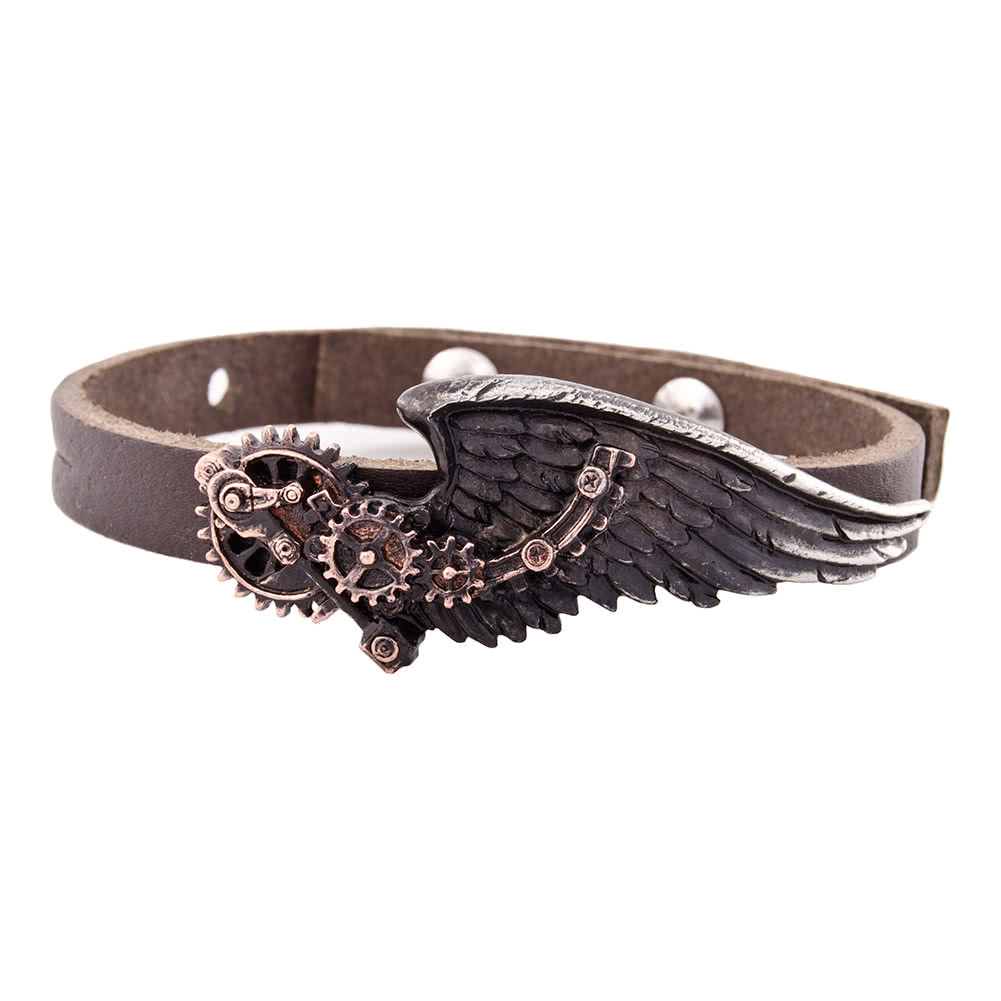Alchemy Gothic The Black Baron Technician's Wingstrap (Brown)