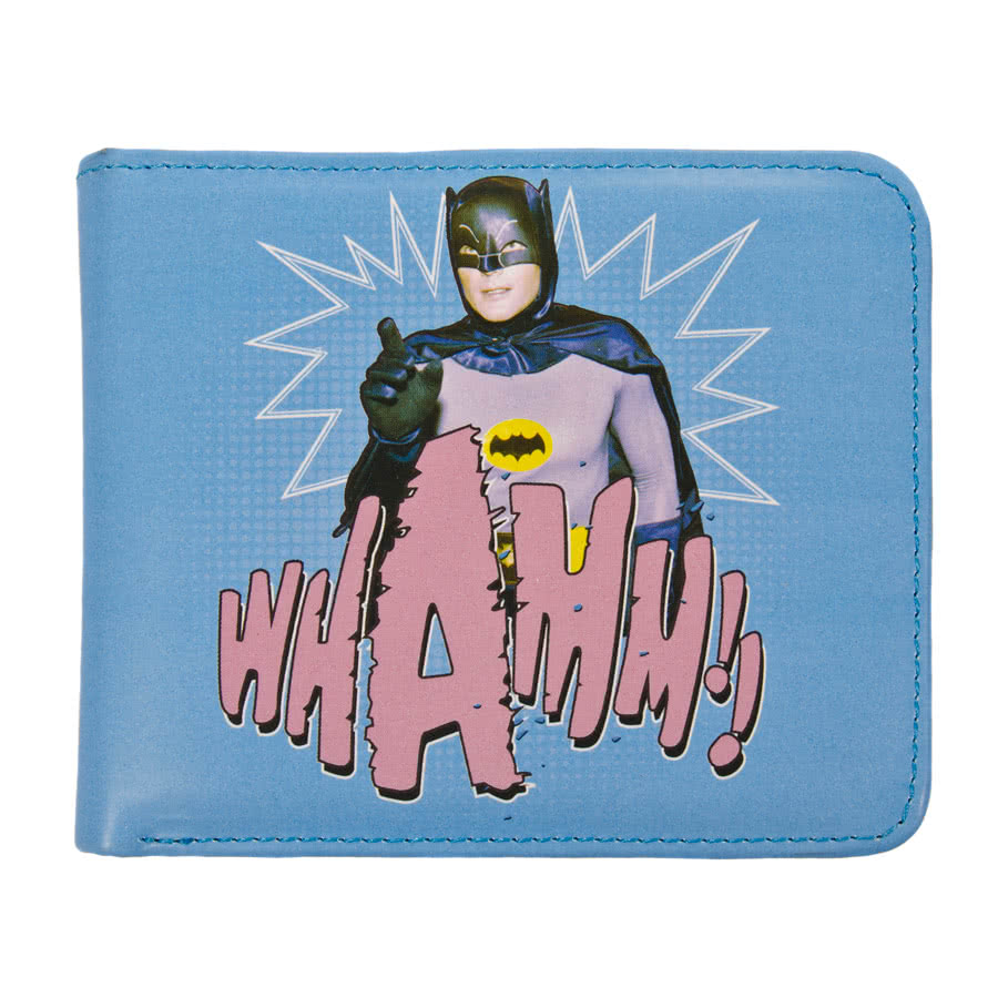 DC Comics Batman 1966 Wallet (Blue)