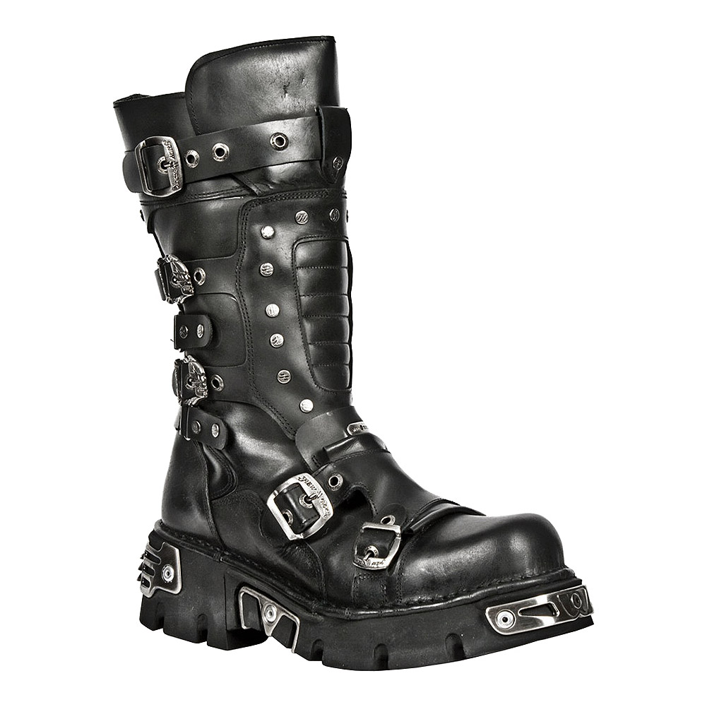 New Rock M.1020-S2 Reactor Stiefel (Schwarz)