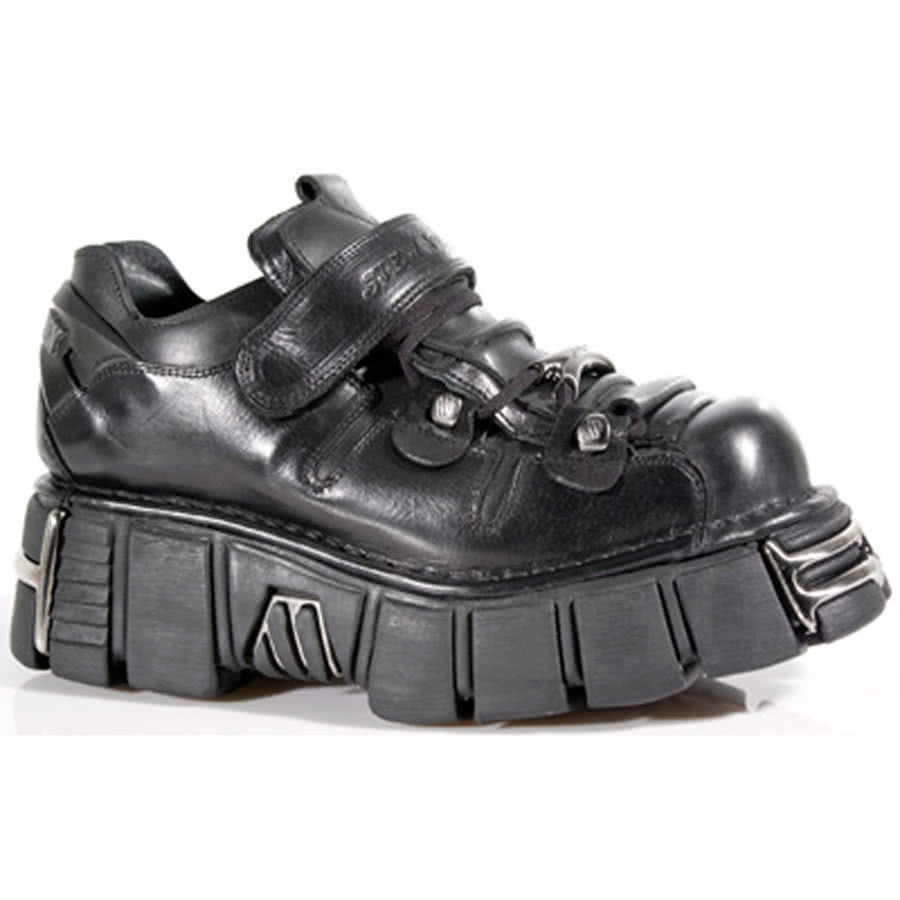New Rock M.131-S1 Tower Shoes (Black)