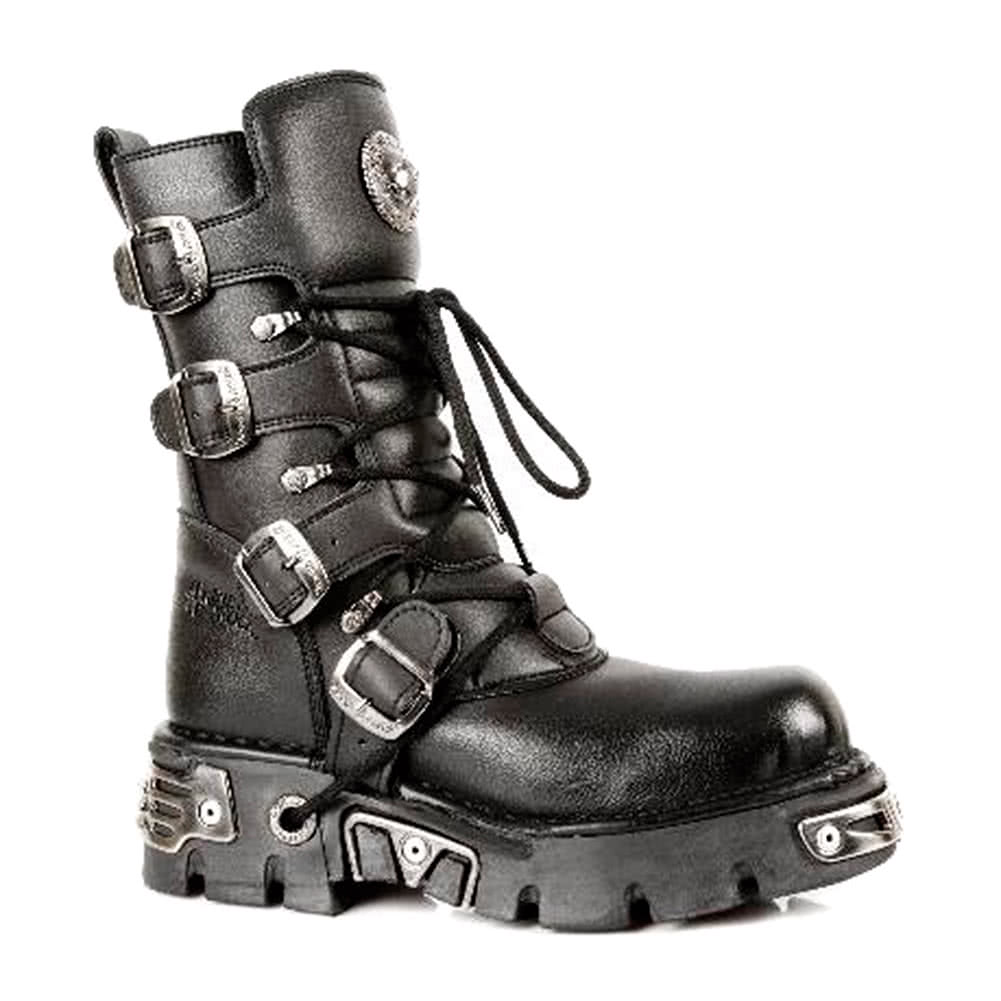 New Rock M.373-S7 Reactor Vegan Boots (Black)