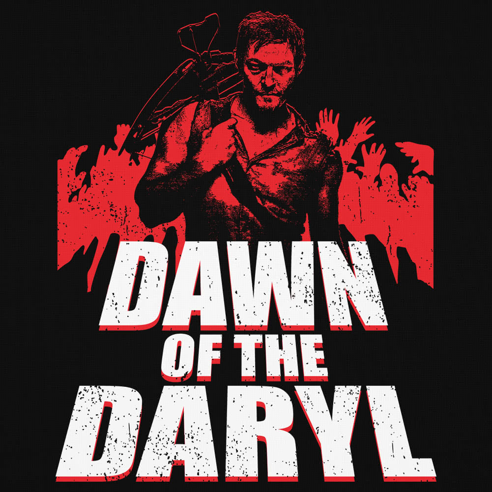 Blue Banana Dawn Of The Daryl T Shirt (Black)