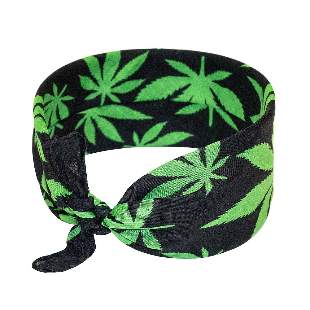 Bandana Leaf Blue Banana (Multicolore)